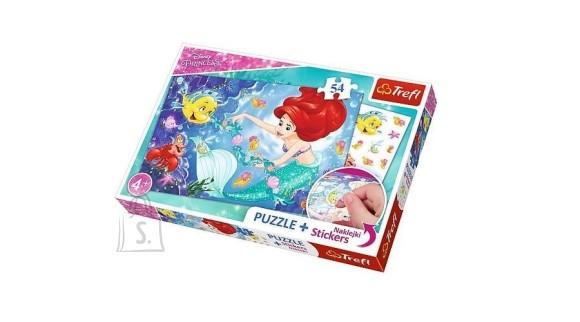 Trefl pusle Ariel 54tk + kleepsud