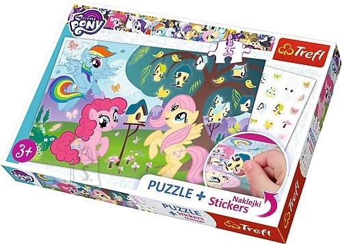 Trefl pusle My Little Pony 35tk + kleepsud