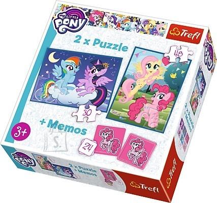 Trefl pusle komplekt My Little Pony 78tk, 24 memokaarti
