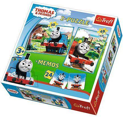 Trefl pusle komplekt Thomas 78tk + 24 memokaarti
