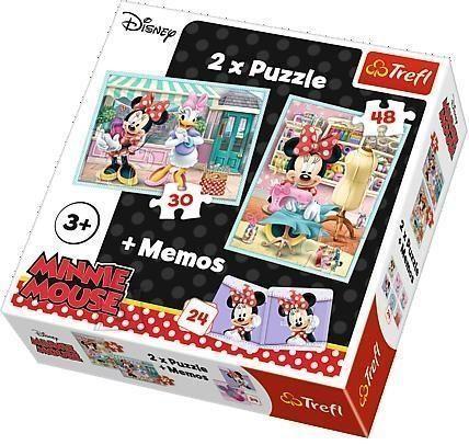 Trefl pusle komplekt Minnie 78tk, 24 memokaarti