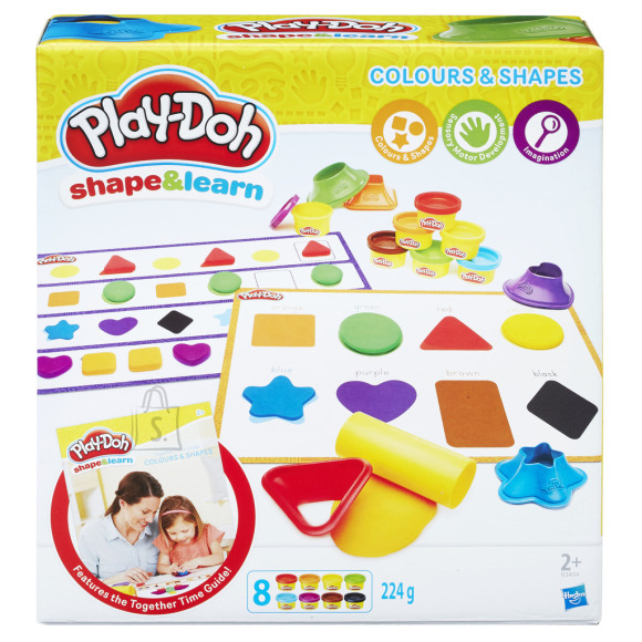 Play Doh Värvid ja kujundid