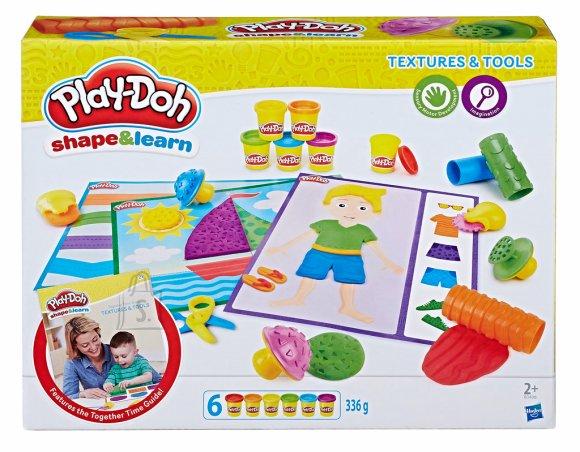 Play Doh Tekstuuride komplekt