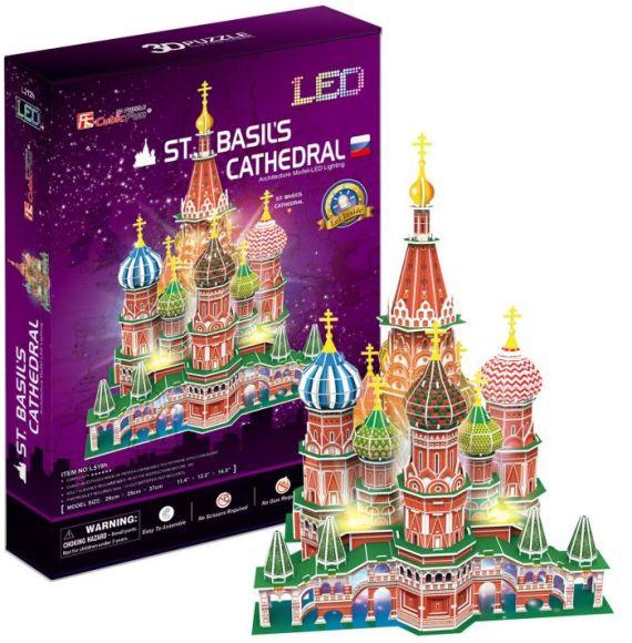 CubicFun 3D pusle Püha Vassili Katedraal