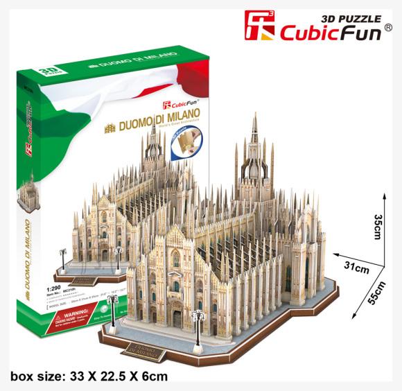 CubicFun 3D pusle Duomo Di Milano