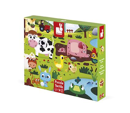 Janod pusle Farm animals 20 tk