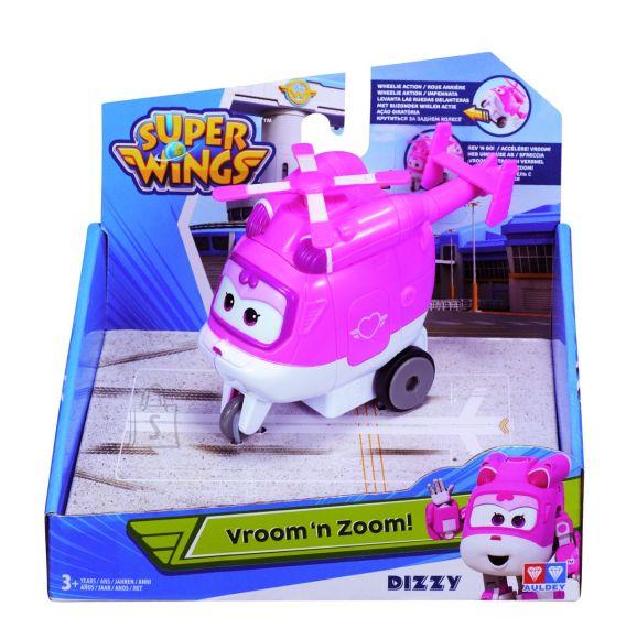 Super Wings Vroom 'n' Zoom! helikopter Dizzy