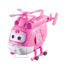 Super Wings transformeeruv mängulennuk 12,5 cm