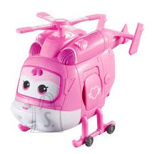 Super Wings transformeeruv lennuk Dizzy (6,5 cm)
