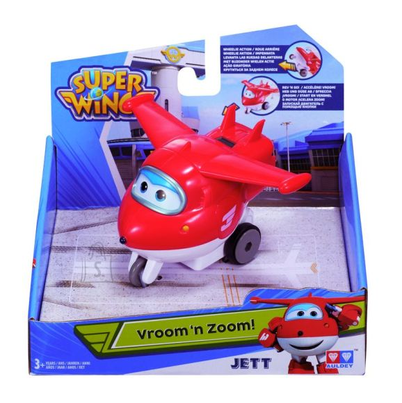 Super Wings Vroom 'n' Zoom tranformeeruv lennuk Jett