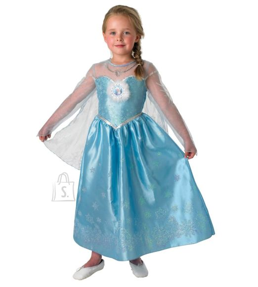 Rubies Elsa kostüüm Deluxe, 116 cm suurus M