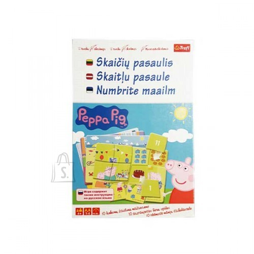 """Trefl Peppa Pig Lauamäng """"Numbrite maailm"""""""
