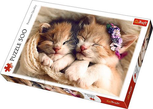 Trefl pusle Magavad kassipojad 500 tk