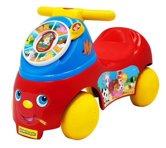 Fisher Price Melody Maker pealeistutav auto