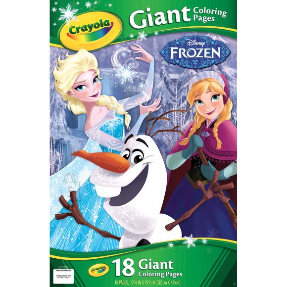 """Crayola suur värviraamat """"Frozen"""""""