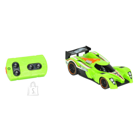 Toy State Hot Wheels R/C võidusõidu auto tuubis