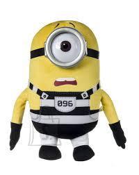 Minions Posh Paws pehme mänguasi Jail Stuart 20 cm