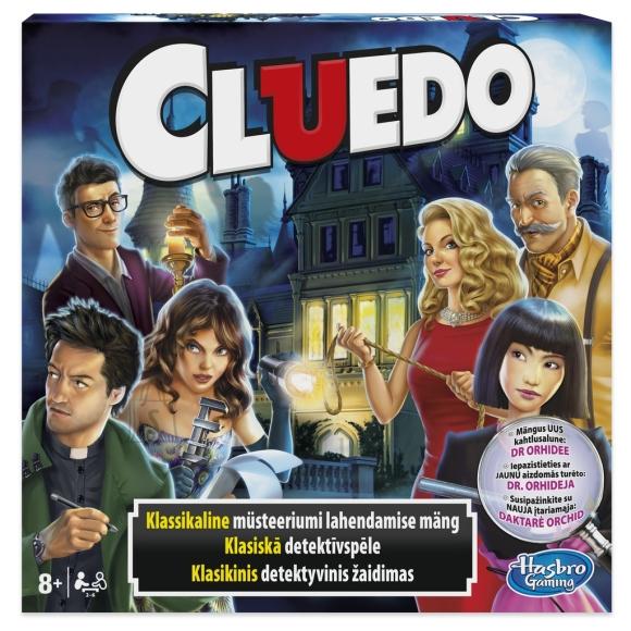 Hasbro lauamäng ClueDo
