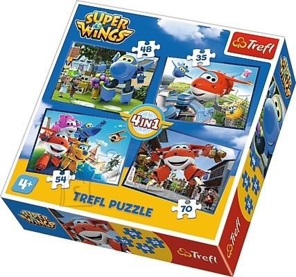 Trefl pusle komplekt Super Wings 4in1
