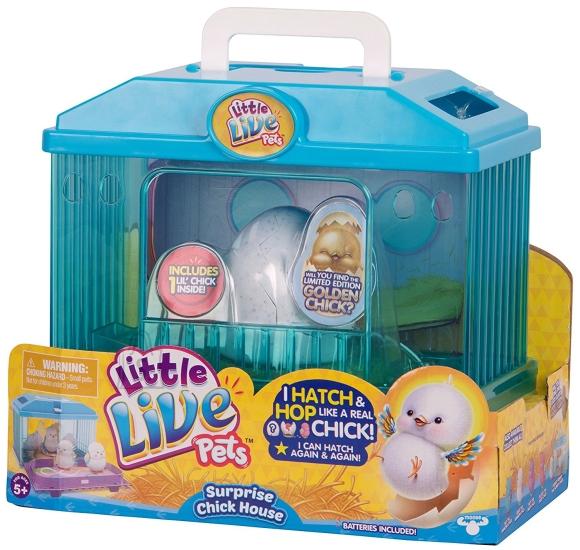 Little Live Pets mängukomplekt Tibu majaga