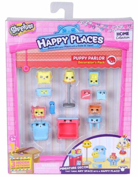 Shopkins Happy Places poetirtsude aksessuaaride pakk