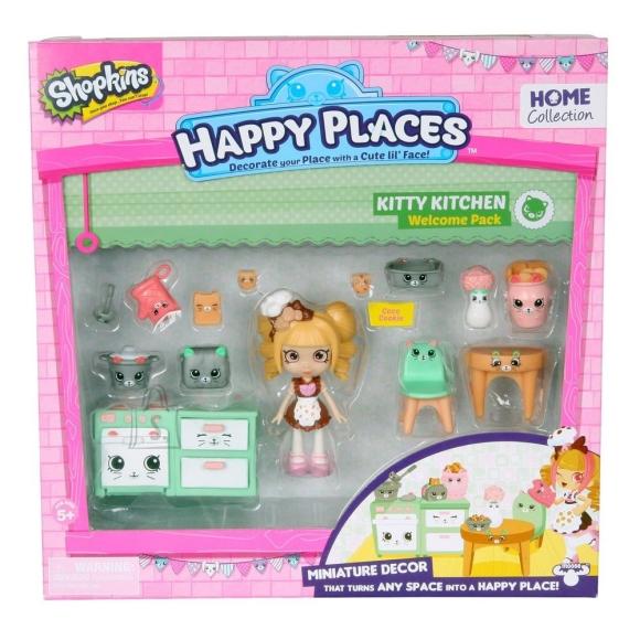 Shopkins Happy Places mängukomplekt nukk ja aksessuaarid