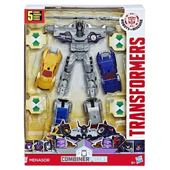 Transformers mängukomplekt autodega