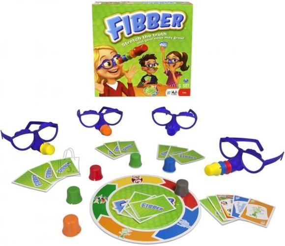 Spin Master lauamäng Fibber