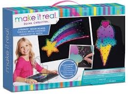 Make It Real neoon valgustusega tahvel