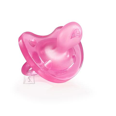 Chicco Physio Soft silikoonist lutt roosa