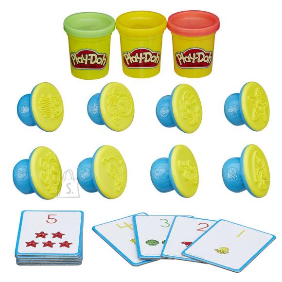 Play Doh Hasbro numbrid ja arvutamine