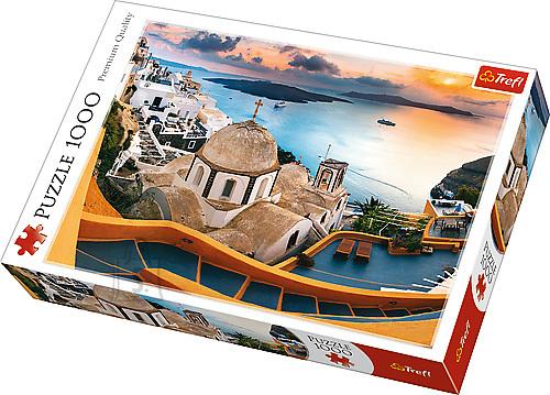 Trefl pusle Santorini 1000 tk