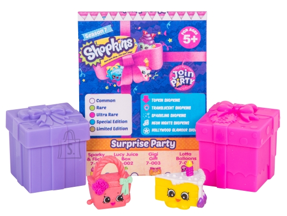 Shopkins Join the Party poetirtsude pimepakk 7 seeria
