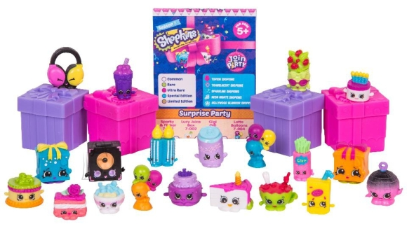 Shopkins Join the Party poetirtsude megapakk 7 seeria