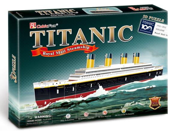 CubicFun 3D pusle Titanic