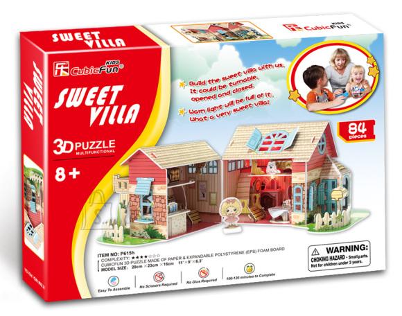 CubicFun 3D pusle Sweet Villa
