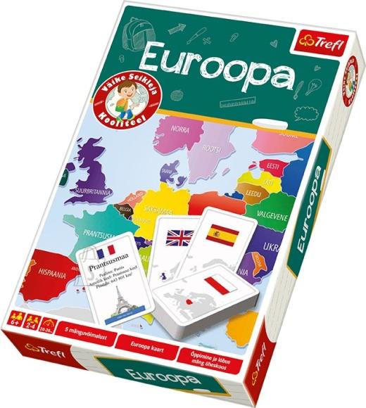 Trefl haridusmäng Euroopa