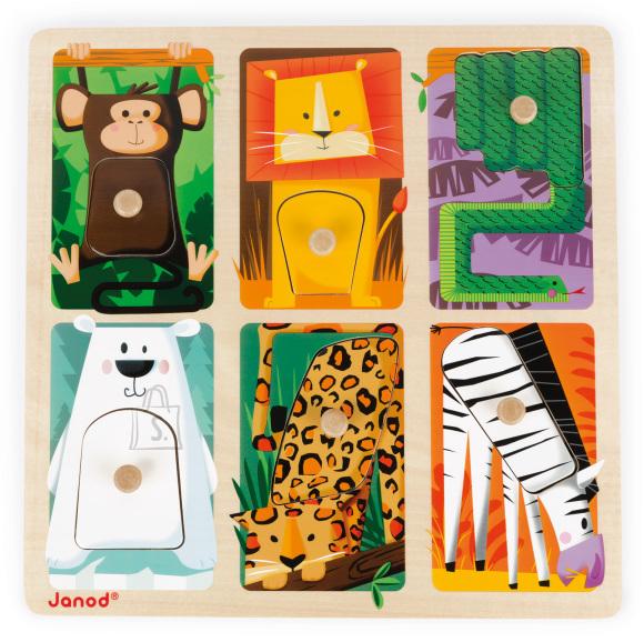 Janod pusle Zoo animals