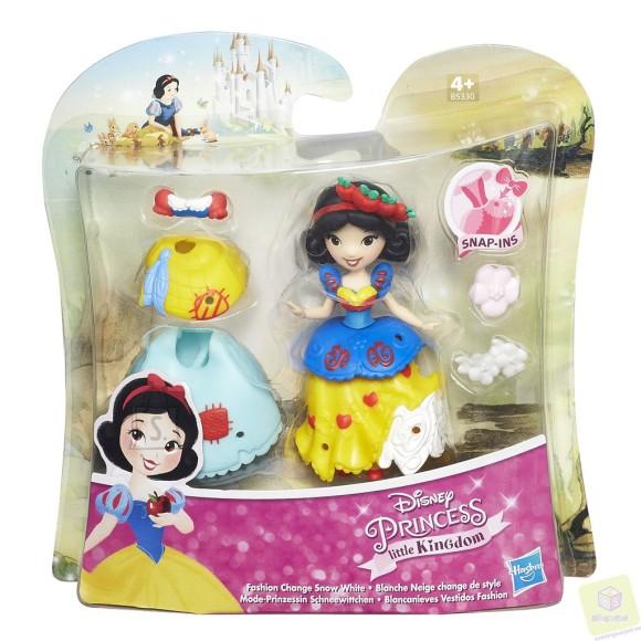 Disney mängukomplekt mini nukk lisakleidiga