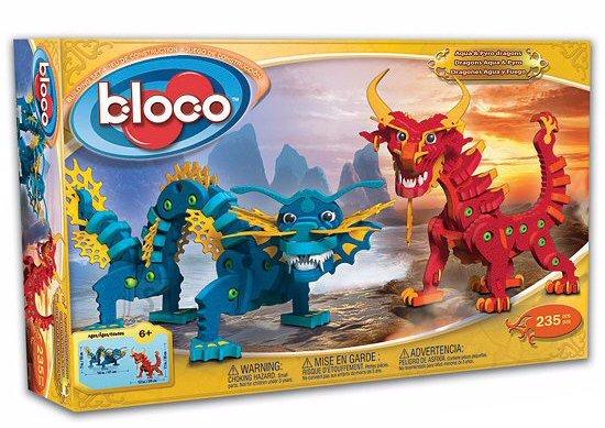Konstruktor draakonid Aqua ja Pyro