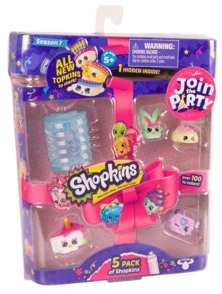 Shopkins Join the Party poetirtsude mängukomplekt (7 seeria)