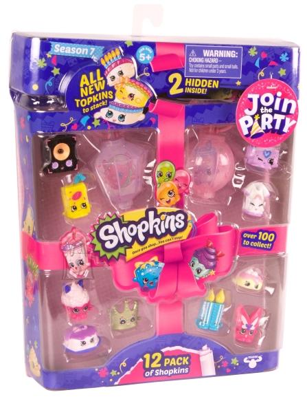 Shopkins Join the Party mängukomplekt aksessuaaridega (7 seeria)