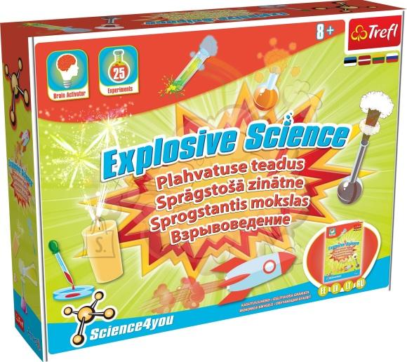 Trefl Science4you plahvatuse teadus