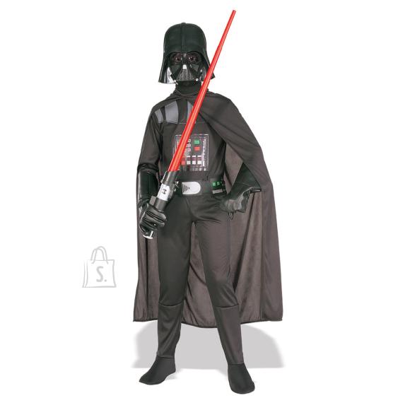 Star Wars Darth Vaderi kostüüm 5-7 aastastele