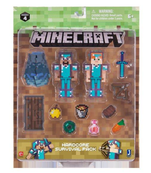 Minecraft Jazwares aksessuaaride komplekt