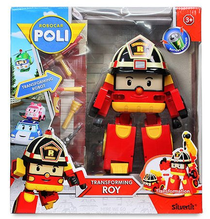 Robocar Poli Roy mängukomplekt