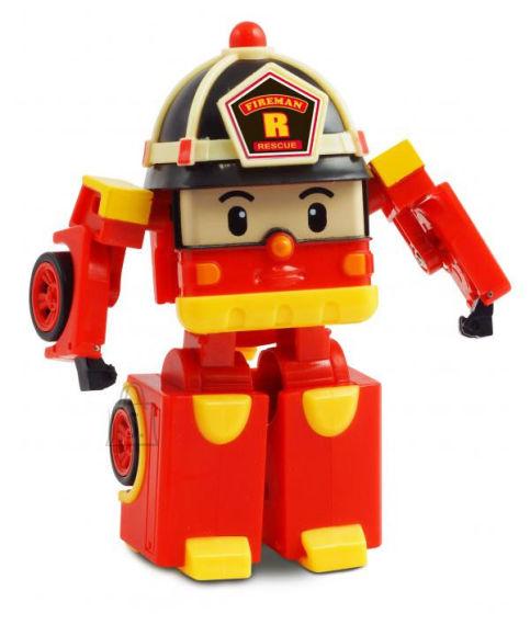 Poli Robocar valgustusega transformer-robot Roy