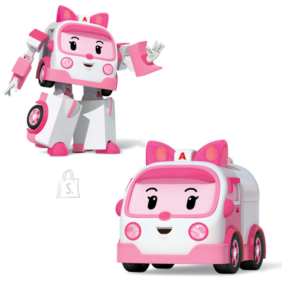 POLI ROBOCAR Transformeeruv robot (Amber)