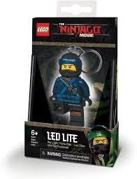 LEGO IQ LED-tuledega võtmehoidja Ninjago Jay
