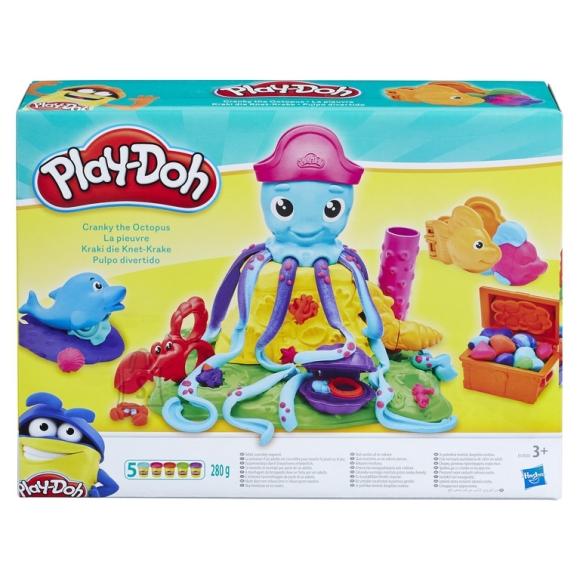 Play Doh Hasbro kaheksajalg